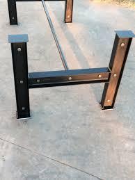 industrial furniture legs. Industrial I Beam Steel Metal Table Base Iron Dining Kitchen Legs Furniture L