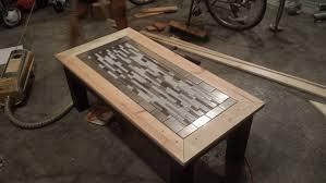 Captivating Tile Finished Tryde Coffee Table Variation