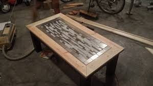 tile finished tryde coffee table variation