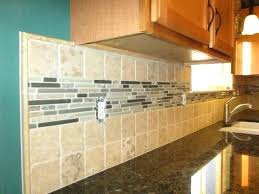 4 x4 glass tile stone tiles with a large glass and stone mosaic liner traditional 4x4