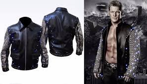 Buy Chris Jericho Light Up Jacket Chris Jericho Wwe Light Up Leather Jacket Jackets Jericho