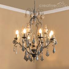 distressed white wood beads chandelier creative co op home as well as interesting chandelier creative