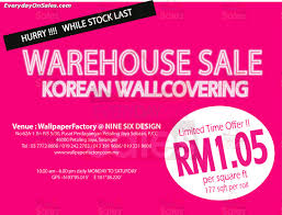 Small Picture 1 31 Mar 2014 Korean Wallcovering Warehouse Sale Clearance for