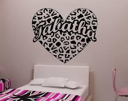 cheetah print wall decor wall stickers design idea and decors