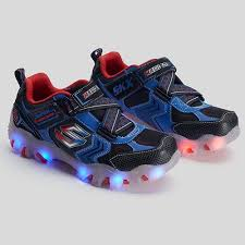 sketchers kids light up shoes. street lightz boys\u0027 light-up athletic shoes skechers - blue, red sketchers kids light up
