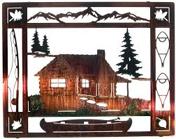 20 at the cabin wall art by artist neil rose