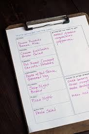 Free Weekly Meal Planner With Grocery List A Free Printable Meal Planner Life As Mom