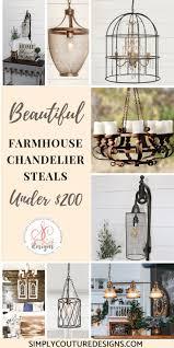 Schönes Farmhouse Chandelier Steals Under 200 Wer