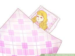 make your own doll furniture. Put Your Doll In Bed, Lay Her Head On The Pillow, And Use Other Piece Of Fabric As A Decorative Blanket! Make Own Furniture