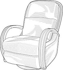 recliner chairs clip art. Exellent Art Recliner Chair Clip Art Throughout Chairs Clip Art R