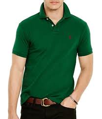 polo ralph lauren classic fit solid mesh polo shirt