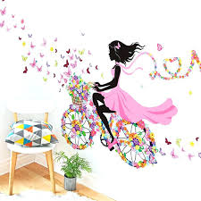 baby girl wall decoration girls room wall decor wall decor dancing girl art wall stickers for baby girl wall decoration
