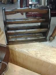 image is loading vintagewoodenmagazinerack vintage wooden magazine rack0 vintage