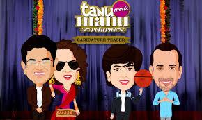 Tanu weds manu returns के लिए चित्र परिणाम