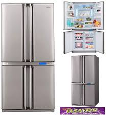 sharp french door fridge. sharp-sjf653spsl-653-litre-refrigerator sharp french door fridge