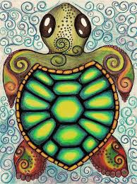 Small Picture Baby Sea Turtle Art Print Baby sea turtles Sea turtles and Turtle