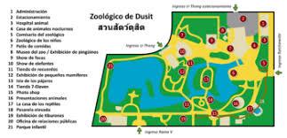 empty zoo map.  Map Dusit Zoo Map On Empty Zoo Map O
