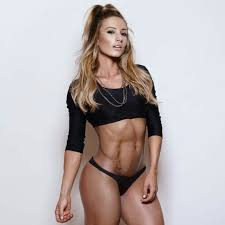 paige hathaway fit motivation fit abs perfect femalemuscle