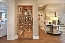 image of modern closet wine cellar mini small cooling wood