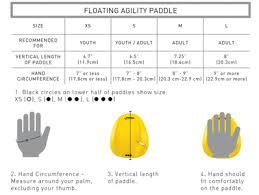 Swimandtri Finis Agility Paddles 1 05 129 03 1 05 129 04