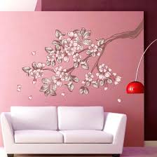 cherry blossoms wall art vintage sticker kids room decor cherry blossoms wall art  on cherry blossom wall art amazon with cherry blossoms wall art classy design blossom decor amazon com and
