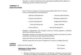 Military Veteran Resume Examples To Civilian Builder How List