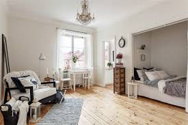 small bedroom without curtains