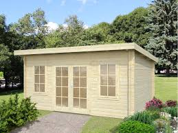 office in the garden. Image. This Slightly Larger Garden Office In The