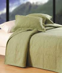 sage green quilt.  Sage Image Is Loading CampFEnterprisesSolidSageGreenQuilted In Sage Green Quilt