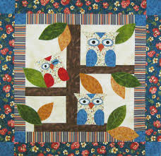 5 Quilted Wall Hanging Patterns for the Home & Owl Quilt Pattern Adamdwight.com
