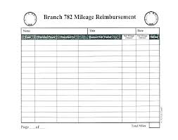 Free Mileage Forms Free Mileage Log Template Gas Forms Pool Car Sheet