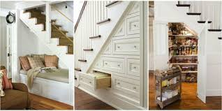Image Utilizing 15 Of The Most Genius Things People Have Done With The Space Under Their Stairs Country Living Magazine 15 Genius Under Stairs Storage Ideas What To Do With Empty Space