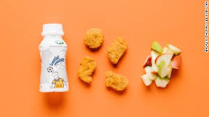 we like the four piece white meat en nuggets for smaller stomachs skip the
