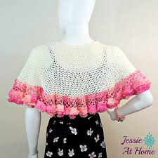 Capelet Pattern Stunning Ravelry Winter White Sashay Capelet Pattern By Jessie Rayot