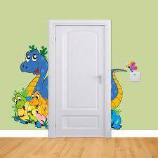 Großhandel 3d Tapete Cartoon Niedlichen Dinosaurier Baby