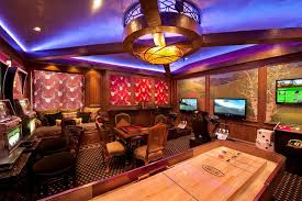 room mood lighting. Dazzling Mood Lighting Mode Denver Traditional Family Room Innovative Designs With Antlers Basement Casino Game Games
