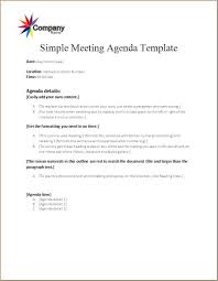 Agenda Outlines Templates Meeting Agenda Template Word Excel Templates