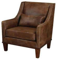 rustic leather armchair clay look arm chair armchairs accent chairs with arms sofa and loveseat rustic leather armchair