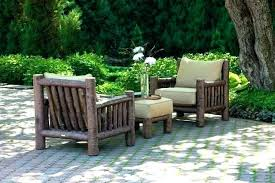 rustic garden furniture. Extraordinary Rustic Patio Furniture Outdoor Image Of Cushions Garden D