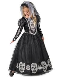 Princess Paradise Costume Size Chart Princess Paradise Bride Of The Dead Girls Costume Day Of The Dead Dress Xs Md