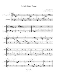 Brick House Horn Chart French Horn Piece Music Sheet Download Topmusicsheet Com