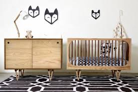 mid century modern baby furniture. With A Mid-century Modern Inspiration, You Can Choose The European Ash Version Or Duotone Ash/Walnut Combination Shown Below. Mid Century Baby Furniture