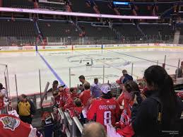 Capital One Arena Section 121 Washington Capitals
