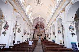 travel photo essay churches of pondicherry  inside the church of our lady of the immaculate conception