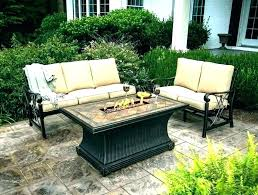 patio table clearance fire pit set gas tables furniture chairs near and t