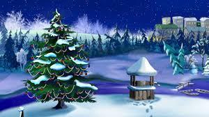 Falling Christmas Tree Lights Christmas Tree Lights Flashing With Falling Snow