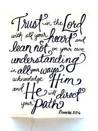 Trust In The Lord Quotes Fascinating Truest Bible Quotes On QuotesTopics