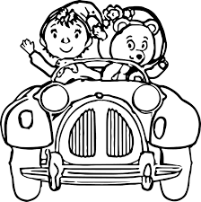 Cool Noddy Cartoon Coloring Pages Check