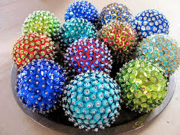 Styrofoam Balls Decorations Magnificent DIY Christmas Ornaments All You Need Is A Styrofoam Ball Sequins