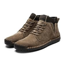 <b>2020 Spring Shoes Men</b> Genuine Leather Winter Shoes Men Suede ...